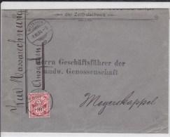 SUISSE - 1904 - ENVELOPPE De HITZKIRCH - 1882-1906 Armarios, Helvetia De Pie & UPU