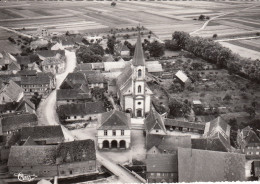 67 - STOTZHEIM / VUE AERIENNE SUR L'EGLISE - France
