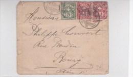 SUISSE - 1908 - ENVELOPPE De CHIASSO - 1882-1906 Armarios, Helvetia De Pie & UPU