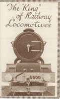 Railway Ephemera GWR The King Of Railway Locomotives 6000 George V 1927 Leaflet Replica - Publicités