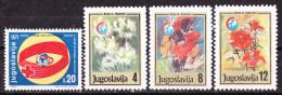 Jugoslavia -Beneficenza-Nuovi MH - Charity Issues