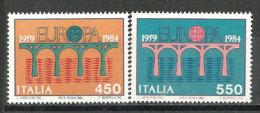 ITALIE. Pont De La Copération Européenne. 2 T-p Neufs **.  Côte 15,00 € - Ponti