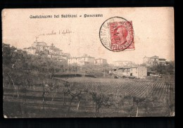 ITALIE Castelnuovo Dei Sabbioni (envs Cavriglia) Panorama, Vue Générale, Ed Lombardi, 1911 - Italie
