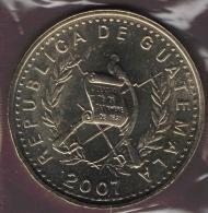 GUATEMALA 50 CENTAVOS 2007 FLOR NACIONAL - Guatemala