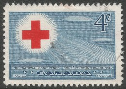 Canada. 1952 18th International Red Cross Conference, Toronto. 4c Used - 1952-.... Reign Of Elizabeth II