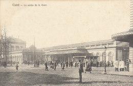 GENT GAND La Sortie De La Gare - Gent