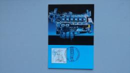 Deutschland Bund 1942 Maximumkarte MK/MC, ESST, Rudolf Diesel (1858-1913), Maschinenbauingenieur; Erster Dieselmotor - BRD