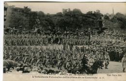 PARIS  -  REVUE DU 14 JUILLET 1918  -  L' INFANTERIE POLONAISE DÉFILÉ PLACE DE LA CONCORDE - Autres