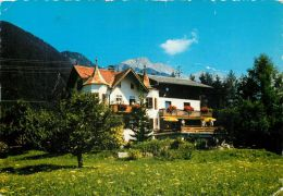Haus Kirchmair Pension Hotel, Obsteig, Tirol, Austria Postcard Used Posted To UK 1974 Stamp - Österreich