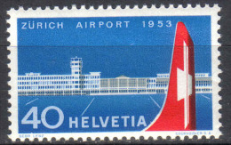 Zu 313 / Mi 585 / YT 536 Aviation Inauguration AEROPORT KLOTEN ** / MNH SBK 9,- - Suisse