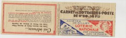 1938 CARNET TYPE PAIX COTE - 10 Timbres Sont Collés à La Couverture !!! - Andere