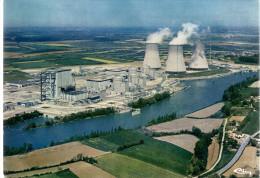 - FRANCE (01) - CPM Ayant Voyagé SAINT-VULBAS 1989 - Centre Nucléaire Du BUGEY - Vue Aérienne - Editions CIM 2227 - - Non Classificati