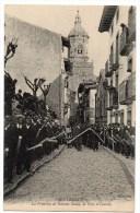 FUENTERRABIA (PAIS VASCO) - PROCESION DE SEMANA SANTA, LA CRUZ A CUESTAS - Espagne
