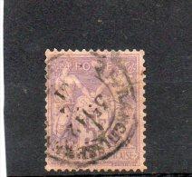 FRANCE  5 F   Année 1877-80     Y&T:95    Type Sage      Timbre Très Aminci   (oblitéré) - 1876-1898 Sage (Type II)
