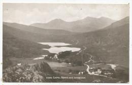 Capel Curig And Snowdon - Caernarvonshire