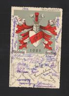 Studentika PK 1921 Absolvia Freising - Schools