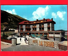 ITALIA - LAZIO - Cartolina Viaggiata Del 1969 - LEONESSA (Rieti) - Hotel Ristorante La Torre - Altre Città
