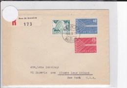 SUISSE - 1958 - ENVELOPPE RECOMMANDEE De BERN BRÜCKFELD - Svizzera