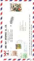 LETTRE DE TAIWAN POUR LA FRANCE 1992 - Taiwán (Formosa)
