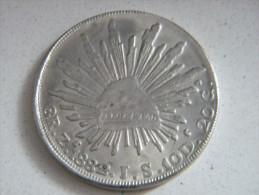 MEXIQUE - 8 REALES ZACATECAS 1882. - Mexique