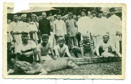 Originele Foto Van De Marine - 1934 Soerasa.... - Size 9 Cm X 14 Cm - Beschadigd Bovenaan Zie Scan - Oorlog, Militair