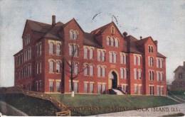 St.Anthony's Hospital  Rock Island. ILL. -  1910 - Etats-Unis