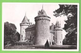 CHATEAU DE COMBOURG / 2 CARTES... / Carte Vierge - Châteaux D'eau & éoliennes