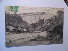 ENVIRONS D'AIX EN PROVENCE - 1913- PETITE MER * ECOULEMENT DES  EAUX DU BARRAGE ZOLA- VOIR PHOTOS - Aix En Provence