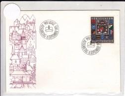 LIECHTENSTEIN - 1973 - ENVELOPPE FDC