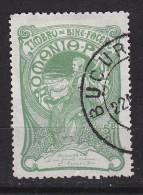 ROUMANIE - N°Y&T  157  - 5(+10)b Vert - Au Profirt D'oeuvres De Bienfaisance  - Oblit Cad - 1881-1918: Charles Ier