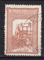 ROUMANIE - N°Y&T  164  - 3(+7)b Brun Jaune - Au Profirt D´oeuvres De Bienfaisance  - Oblit Cad - 1881-1918: Charles I
