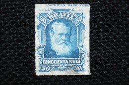 Bresil  50reis  Haut De Feuille America Bank Note N° 39 - Gebraucht