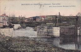 Montigny-le-Tilleul 22: Déversoir. Pont-à-Nôle 1907 - Montigny-le-Tilleul