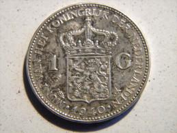 PAYS-BAS - 1 GULDEN 1940. - [ 3] 1815-… : Kingdom Of The Netherlands