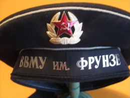 Casquette De Marin/ RUSSIE  / Seconde Moitié XXéme Siécle/Vers 1980    CCK9 - Headpieces, Headdresses