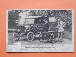 Cp, FORD, Voiture, Automobile,DIX MILLIONIEME Voiture  1924 - Turismo