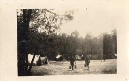 CPA 119 - Carte Photo - Camp De Scout  / Scoutisme - Scoutisme