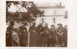 CPA 120 - Carte Photo - Curé Bénédiction D´ Un Scout / Femme Scout / Scoutisme - Scoutisme