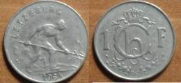 1964 - Luxembourg - 1 FRANC, Charlotte, KM 46.2 - Luxembourg
