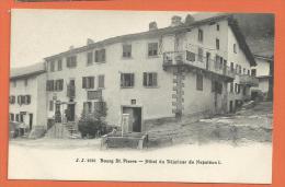 EGG708, Bourg St. Pierre , Hôtel Du Déjeûner De Napoléon, 2526, Petite Animation,  Non Circulée - VS Valais