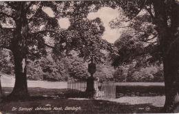DENBIGH -DR SAMUEL JOHNSONS MONT. - Denbighshire