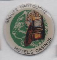 Groupe Partouche , Hotels Casinos , Roulette , Machine à Sous - Pins