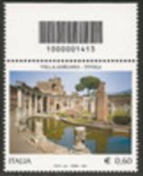 Barre 2011 Nuovo** [1413] Villa Adriana; Alto - 6. 1946-.. Repubblica