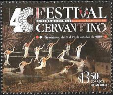 Mexico - 2012 - International Cervantes Festival - Mint Stamp - Mexico