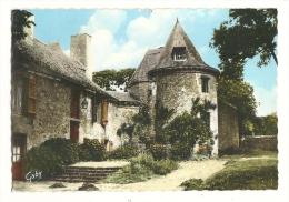 Cp, 56, Muzillac, Manoir De Séréac, Tour Féodale, Voyagée 1966 - Muzillac