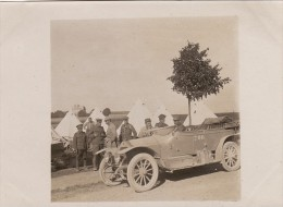 Photo Originale 1915 ABBEVILLE - Le Camp Anglais, Automobile (A56, Ww1, Wk1) - Abbeville