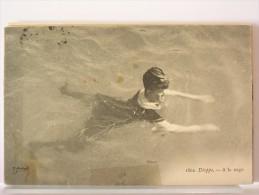 76 - DIEPPE - A LA NAGE - 1908 - Dieppe