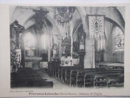 52 - PREZ Sous LAFAUCHE - Intérieur De L'Eglise. - Autres Communes