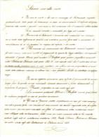 SILENZIO SINO ALLA MORT IN CASO  DI MORTE,,,,,PALUZZO 1818  C.1546 - Manuscripten