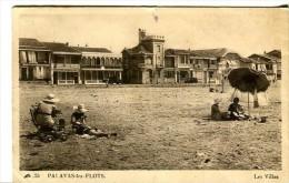 PALAVAS-les-FLOTS (34) - La Plage Avec Les Villas - Palavas Les Flots